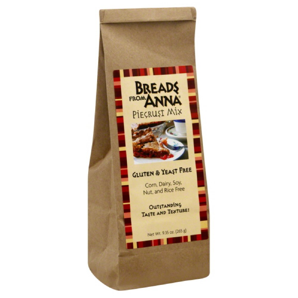 Breads from Anna, Pie Crust Mix, gluten and yeast free,  9.35-Ounce