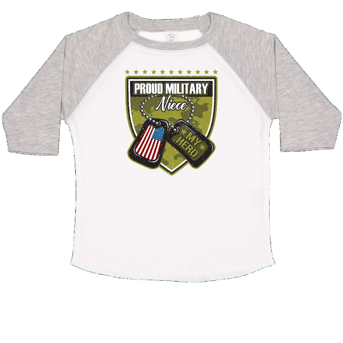 inktastic Proud Military Niece Gift Toddler T-Shirt