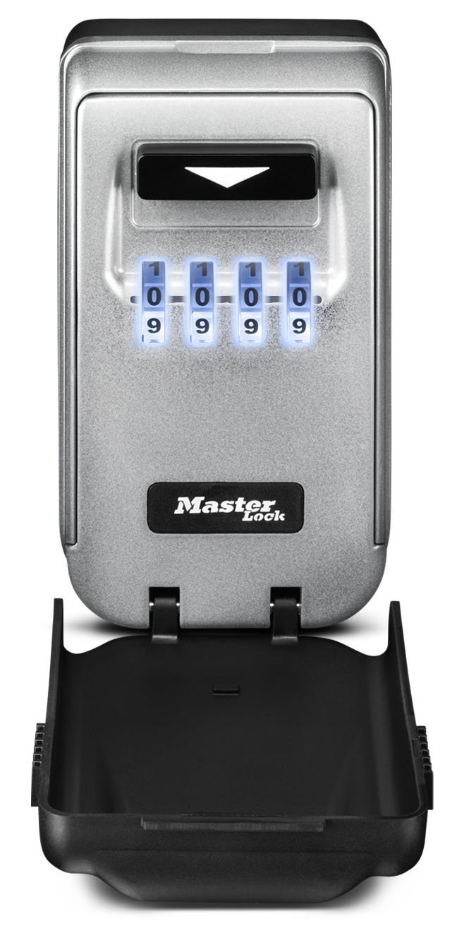 Master Lock 5425D 2 Pack 2-7/8in. Combination Light Up Dial Wall Mount Lock Box