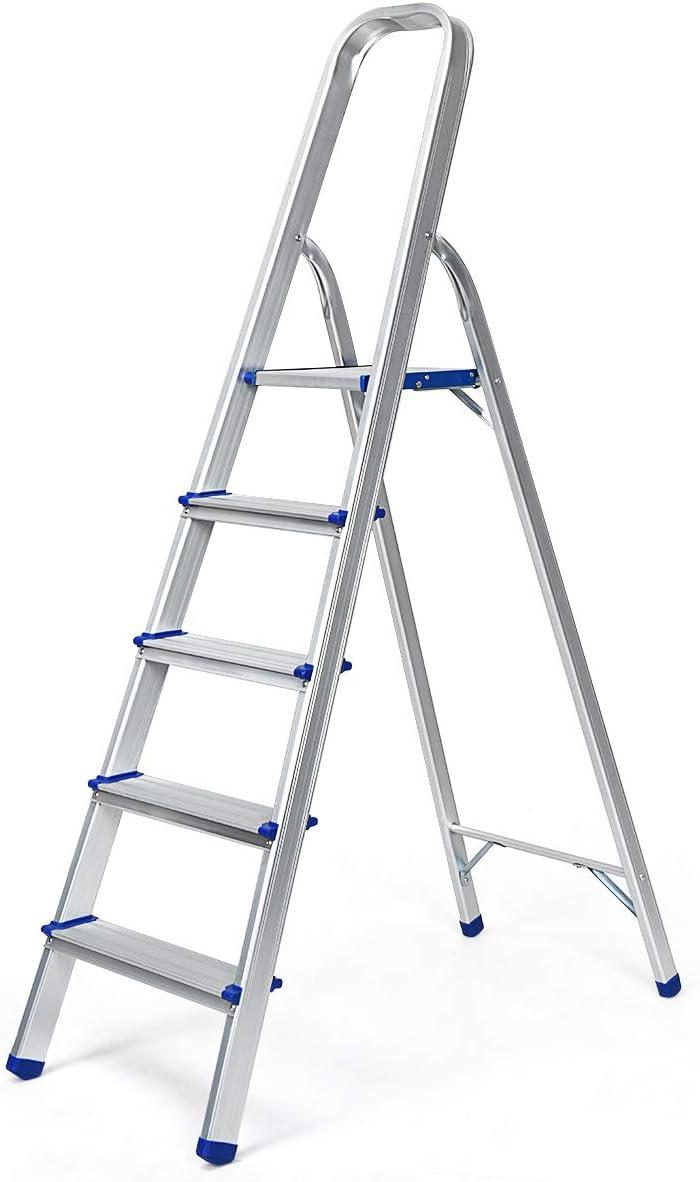 Mehrzweckleiter zweiseitige Haushaltsleiter 2 x 3 Leiter Trittleiter Stehleiter