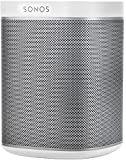 Sonos PLAY 1 - Sistema inalámbrico de música (1 woofer + 1 altavoz de agudos, WiFi), blanco