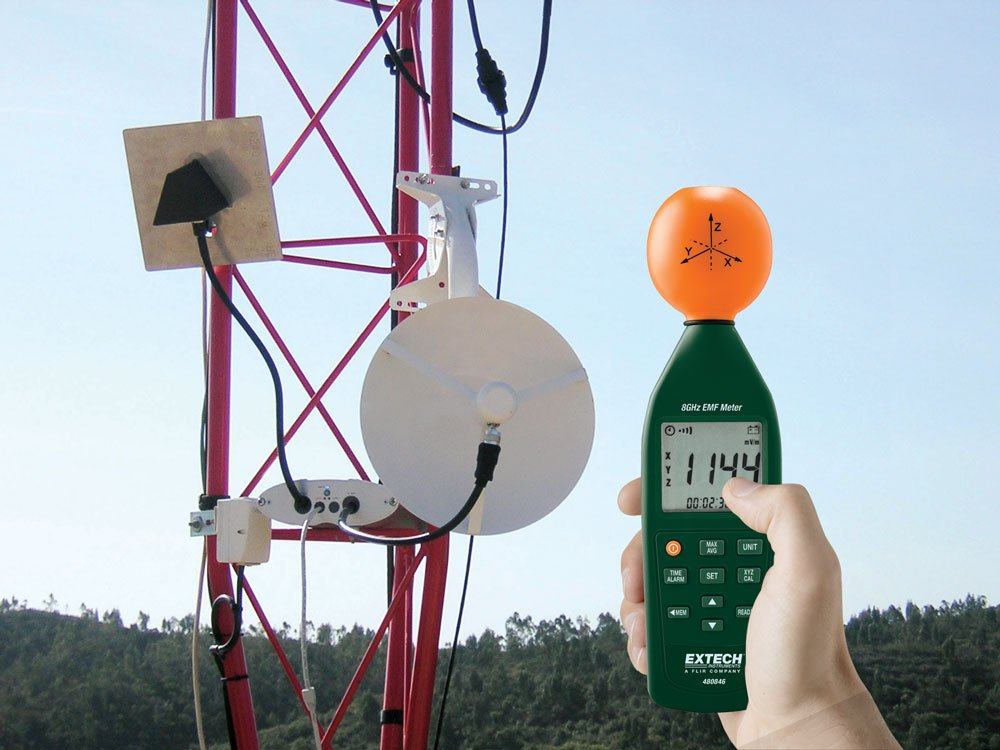Extech 480823 Extremely Low Frequency Electromagnetic Field Meter