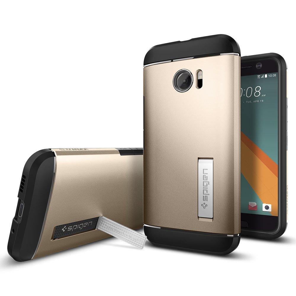 spigen Funda HTC 10, [Slim Armor] Doble Capa de Protecci?n ...