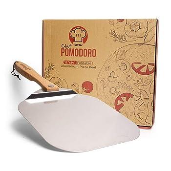 Chef Pomodoro Aluminium Metal Pizza Peel