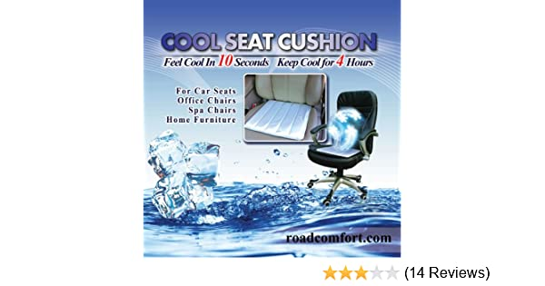 amazon com cooling seat cushion cool pad for wheelchair car seat