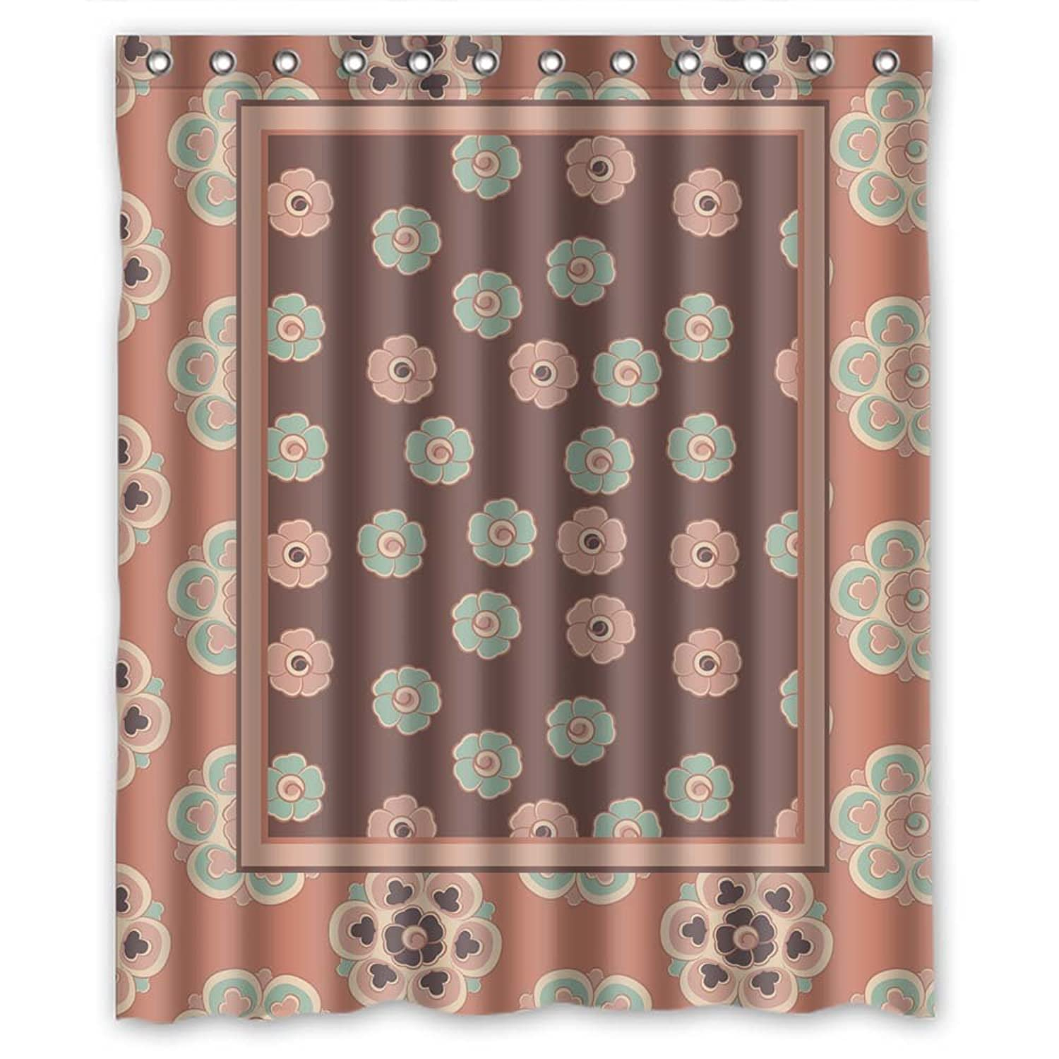 BUSIN Christmas Shower Curtains Width X Height 60 72 Inches W H 150 By 180 Cm