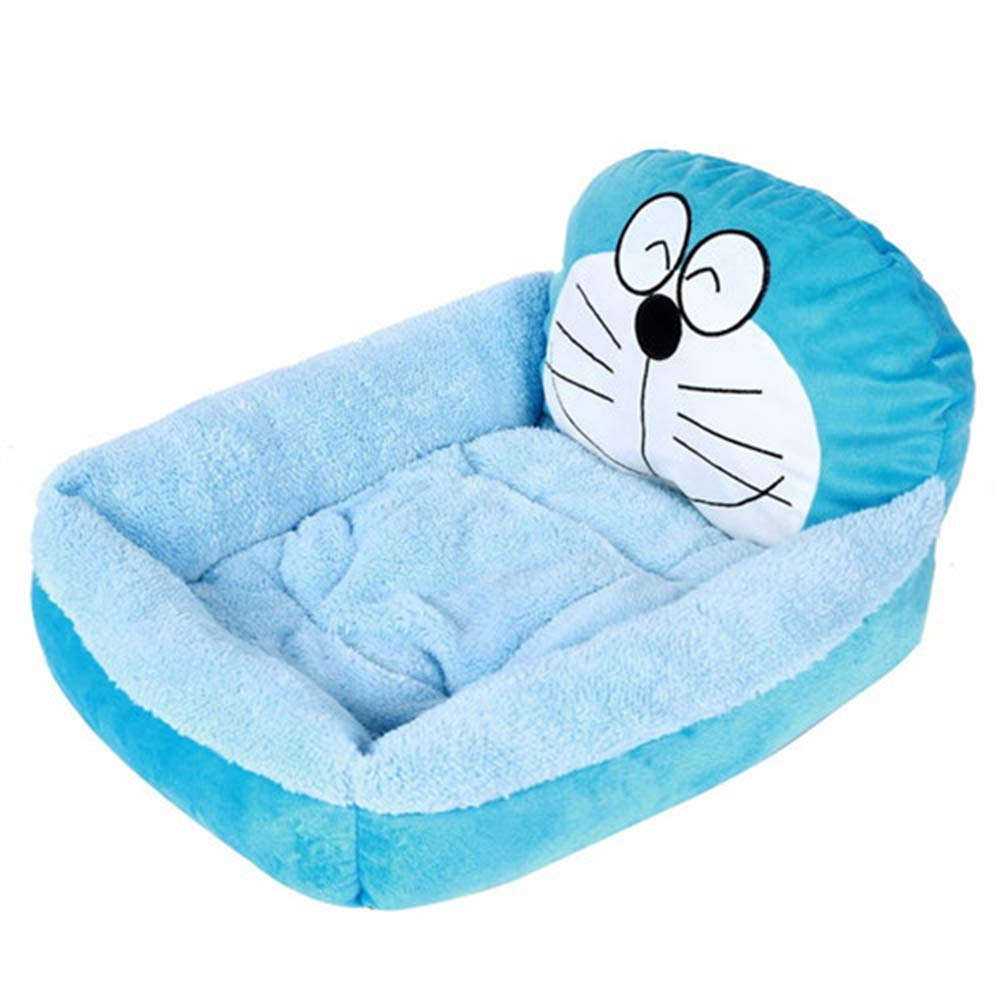 Cat Beds and Mattresses Cozy Warm Soft Fleece Bed Sofa for Small Dogs Cats Washable Cat Kitten Kitty Houses Pet Products,B