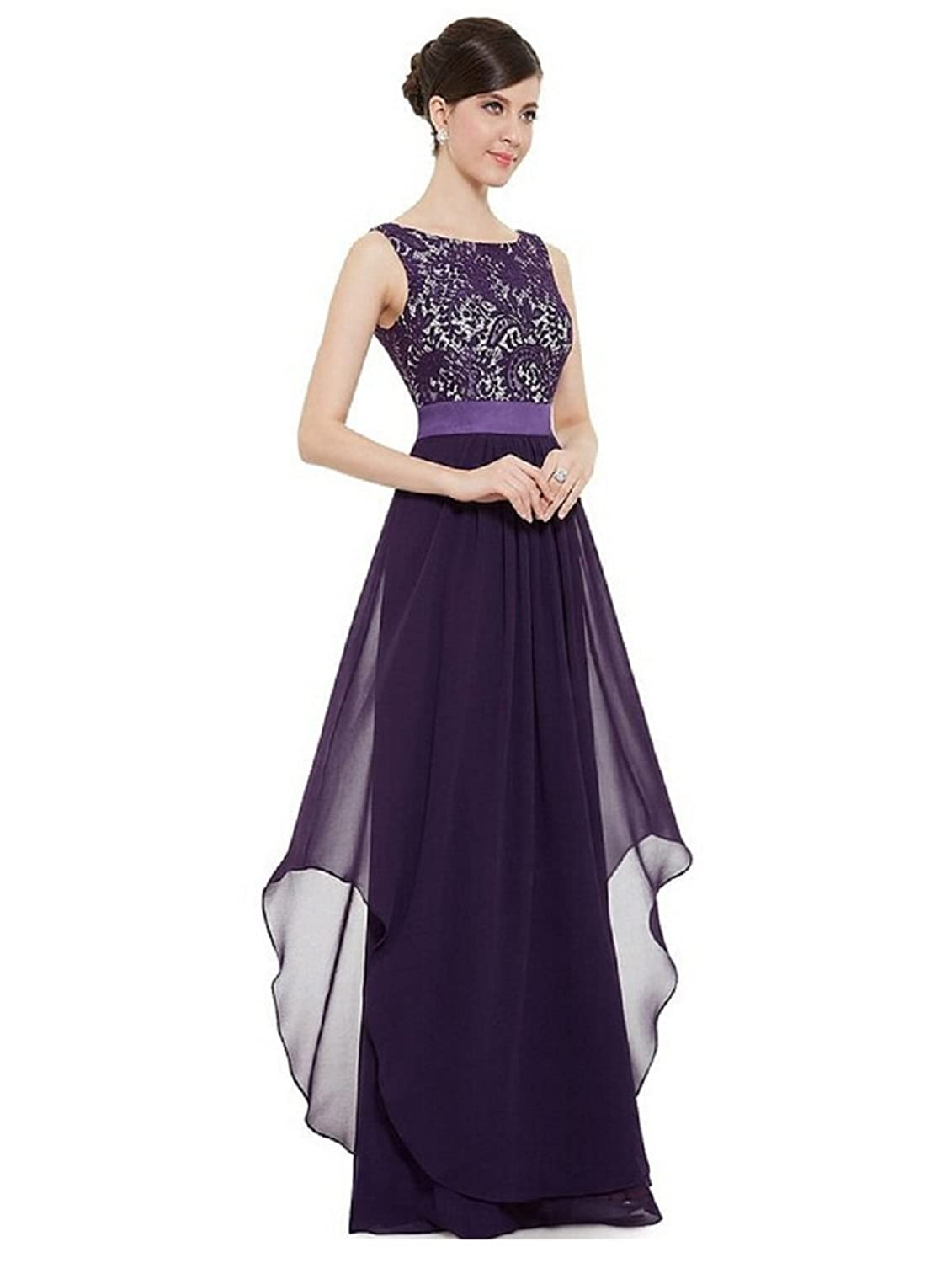 QIYUSHOW Women's Grace Fashion Evening Dresses Party Prom Gown