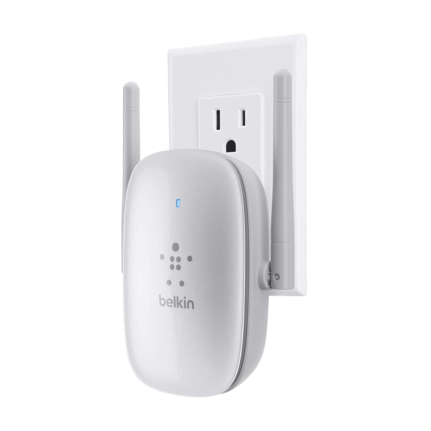 Amazon.com: Belkin N300 Dual Band Wireless N Range Extender: Computers &  Accessories