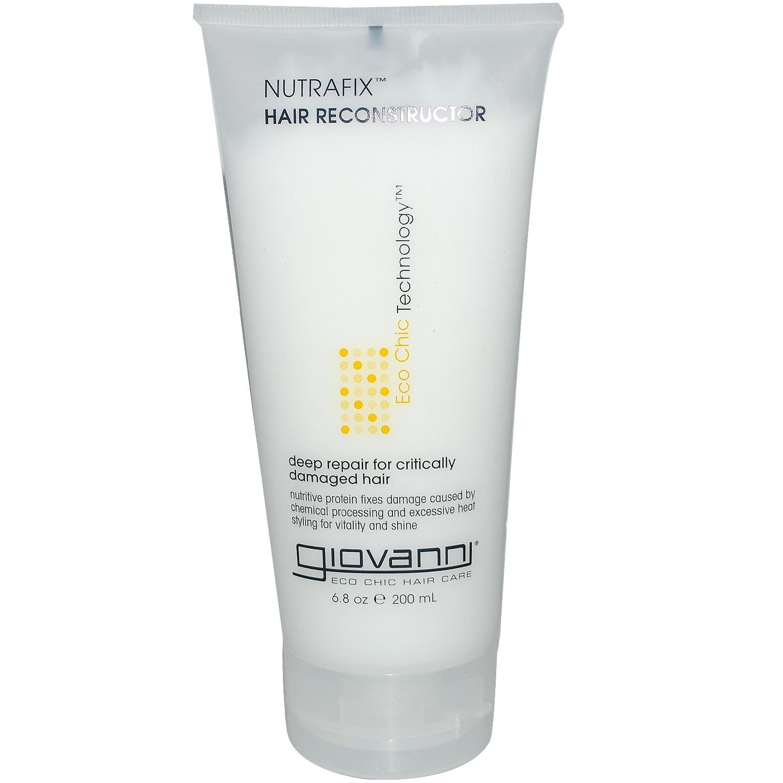 Giovanni Hair Care Products NUTRAFIX Hair RECONSTRUCT, 6.8 FZ