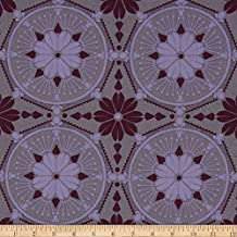Anna Maria Horner True Colors Medallion Violet Fabric