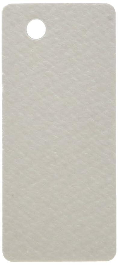 Mopec Tarjeta Blanca 2.4x5.4cm con perforación, Pack de 100 ...