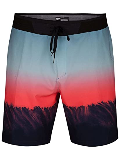 Amazon.com  Hurley Men s Phantom Hyperweave Estuary 18 in Boardshorts 2f08b1af799
