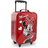 Disney Parks Authentic Minnie Mouse Child Size Rolling Suitcase NEW