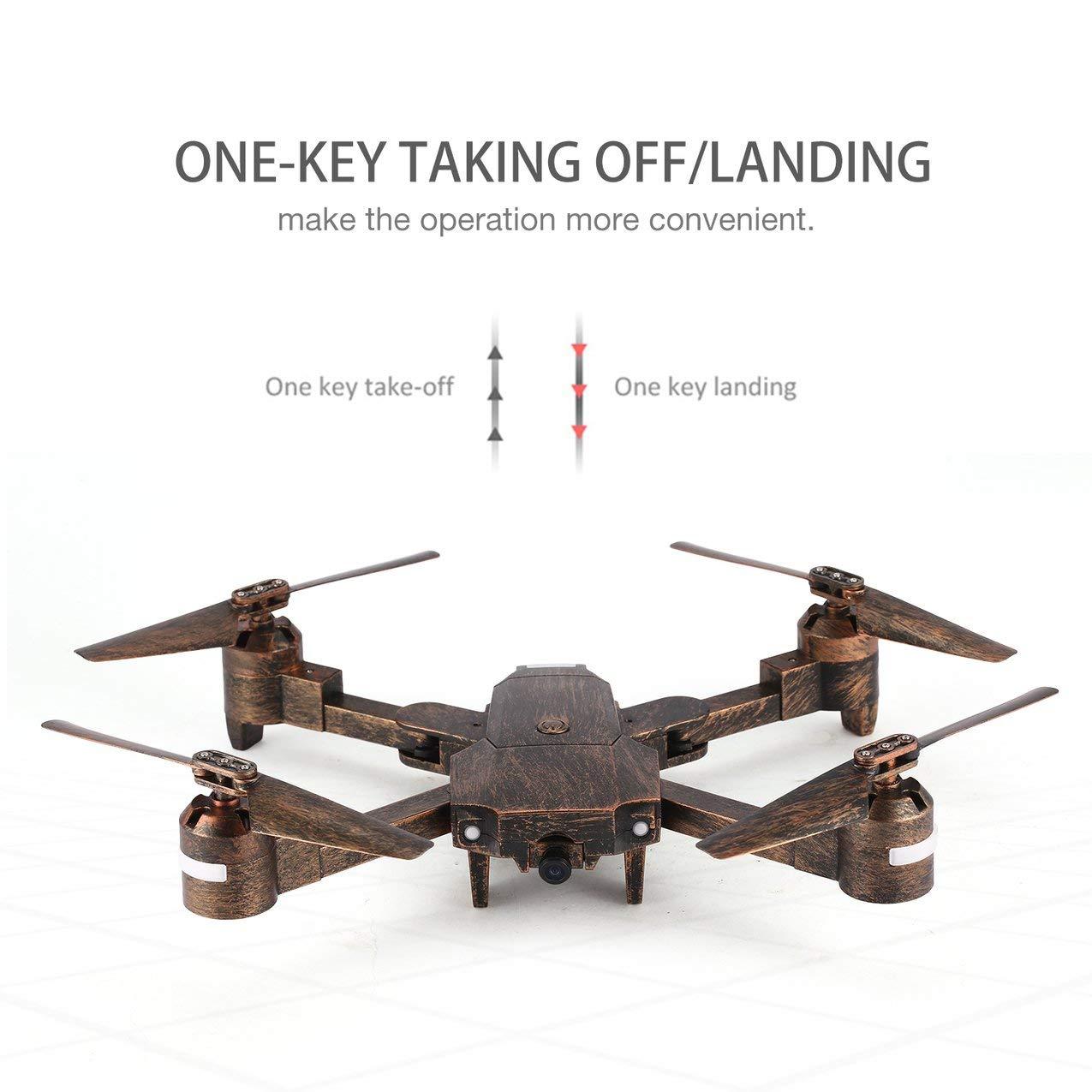 Redstrong Attop X-PACK1 2.4G Drone 720P HD WiFi Cámara Gran ...