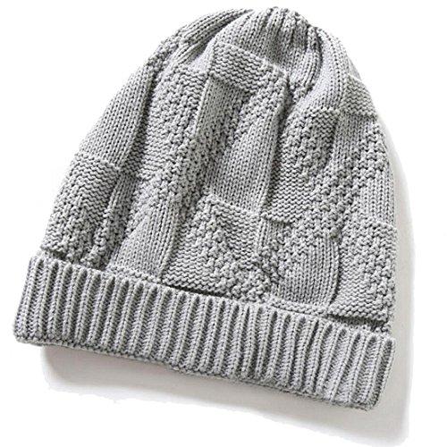 invierno Beanie Womens de Unisex suave caliente de gorros Brandnew Mens gris sombreros de punto Gorro lana Gorro 2017 KeepSa qw0xfAAPY