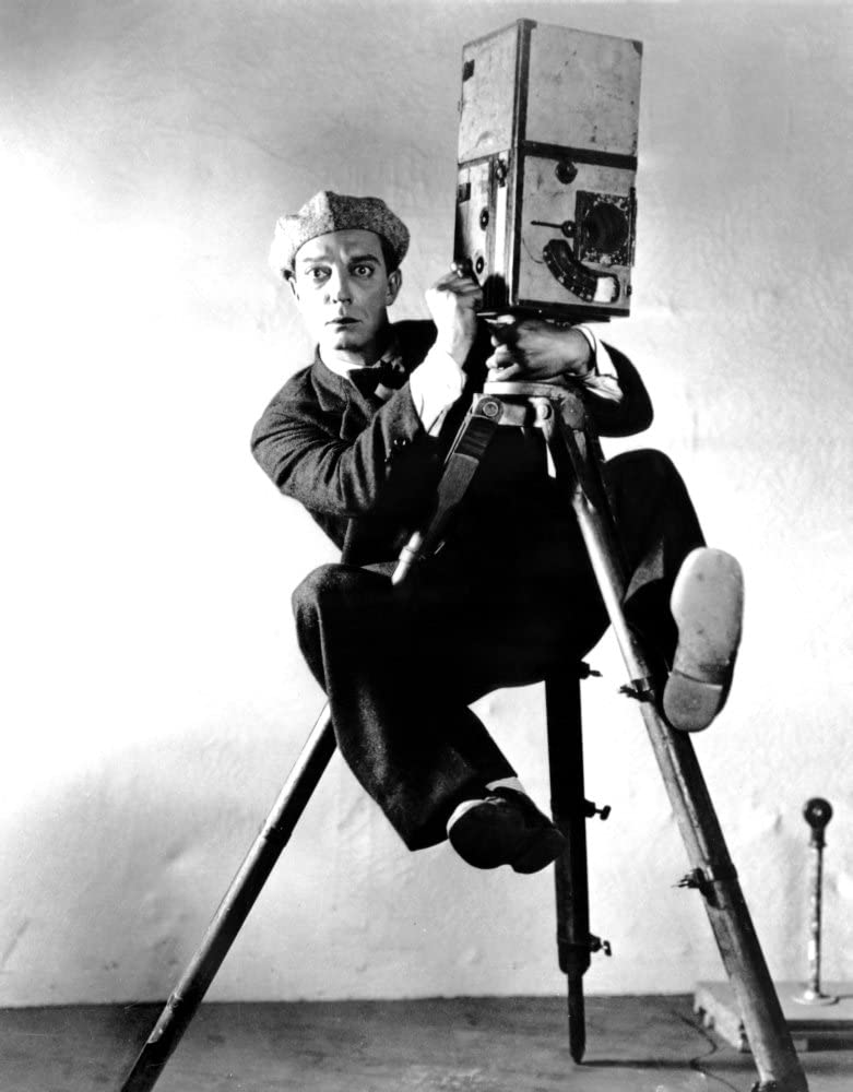 Amazon.com: Posterazzi The Cameraman Buster Keaton 1928 Newsreel ...