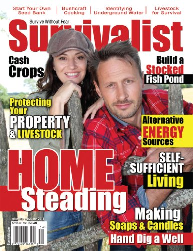 Survivalist Magazine Issue #16 - Homesteading by [Augsburger, Randy, Steve, Sasquatch, Bailey, Lucinda, Durieux, David, Bunch, Mark, James, Halo, Walters, Shaun, Kennedy, Melonie]