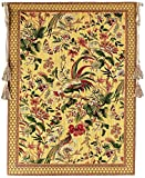 Corona Decor Exotic Birds European Tapestry Wall Hanging