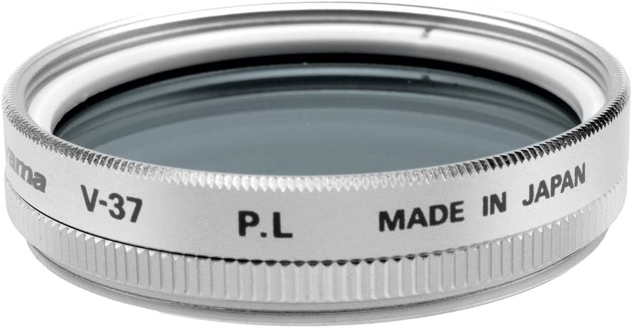 Fujiyama 37mm Polarizing Filter for Panasonic HDC-HS9 Silver