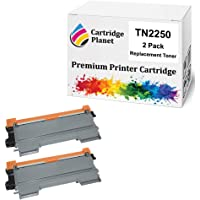 Cartridge Planet 2-Pack Compatible Toner Cartridge for Brother TN-2250 TN2250 (2,600 pages) for Brother DCP7060D…