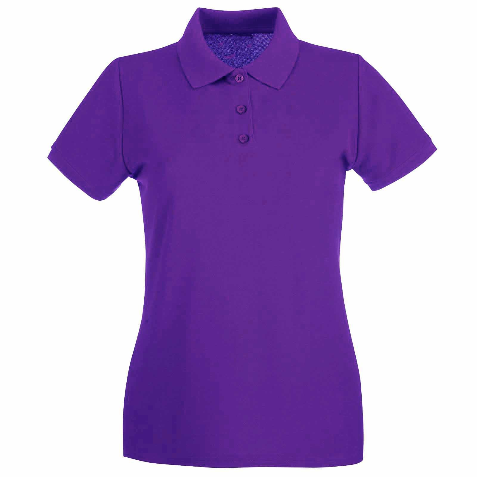 Purple School Polo Shirts Uk
