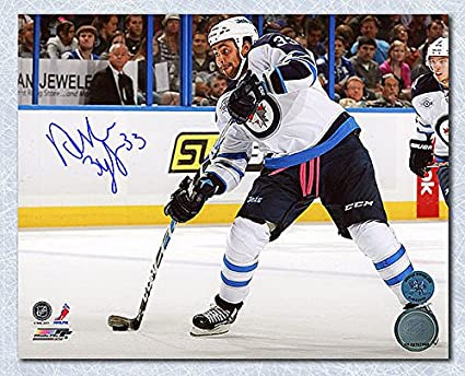 aca5dbfbb8f Dustin Byfuglien Winnipeg Jets Autographed Shooting 8x10 Photo - Signed  Hockey Pictures