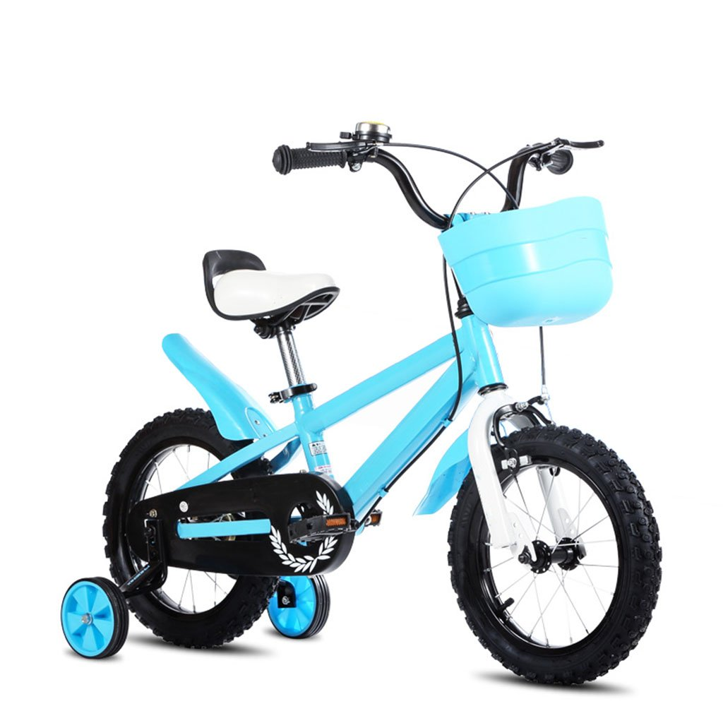 CGN子供用自転車、ベビー用ベビーキャリッジ子供用自転車 soft B07C4TRVXQ 青 青