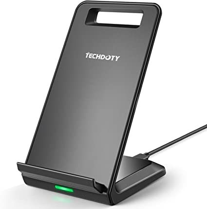 Fast Wireless Car Charger iPhone 8//8 Plus AC Adapter Not Included Fast Wireless Charge for Galaxy S8+ // S7 Edge // S6 Edge Standard Qi-Certified Car Wireless Charging for iPhone X