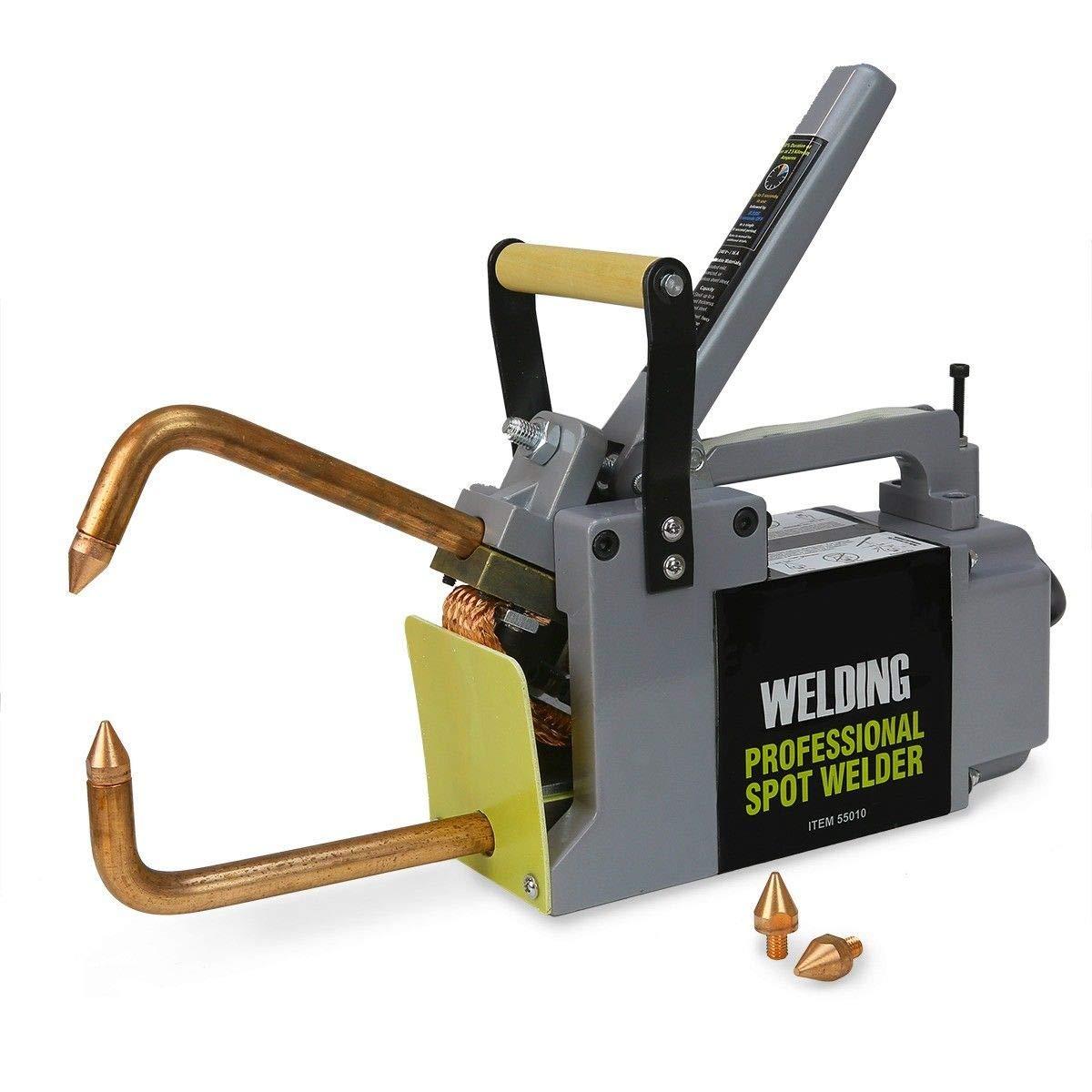 Stark Professional Electric 240 Volt Portable Spot Welder Machine Welding Systems DIY Welding Tips with Handle