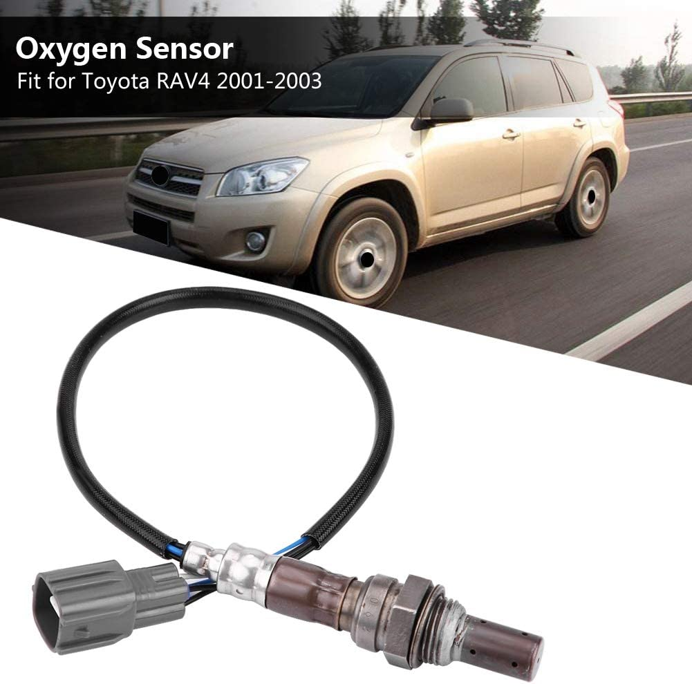 Hlyjoon O2 Oxygen Sensor 89467-42010 Air Fuel Ratio Lambda Sensor 8946742010 Direct Fit Replacement Lambda Part Exhaust Gas Oxygen Sensor for Toyota RAV4 2001 2002 2003