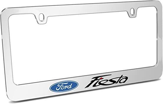 Official Licensed Product Ford Taurus Mirror Chrome Metal License Plate Frame by iPick Image Made in the USA