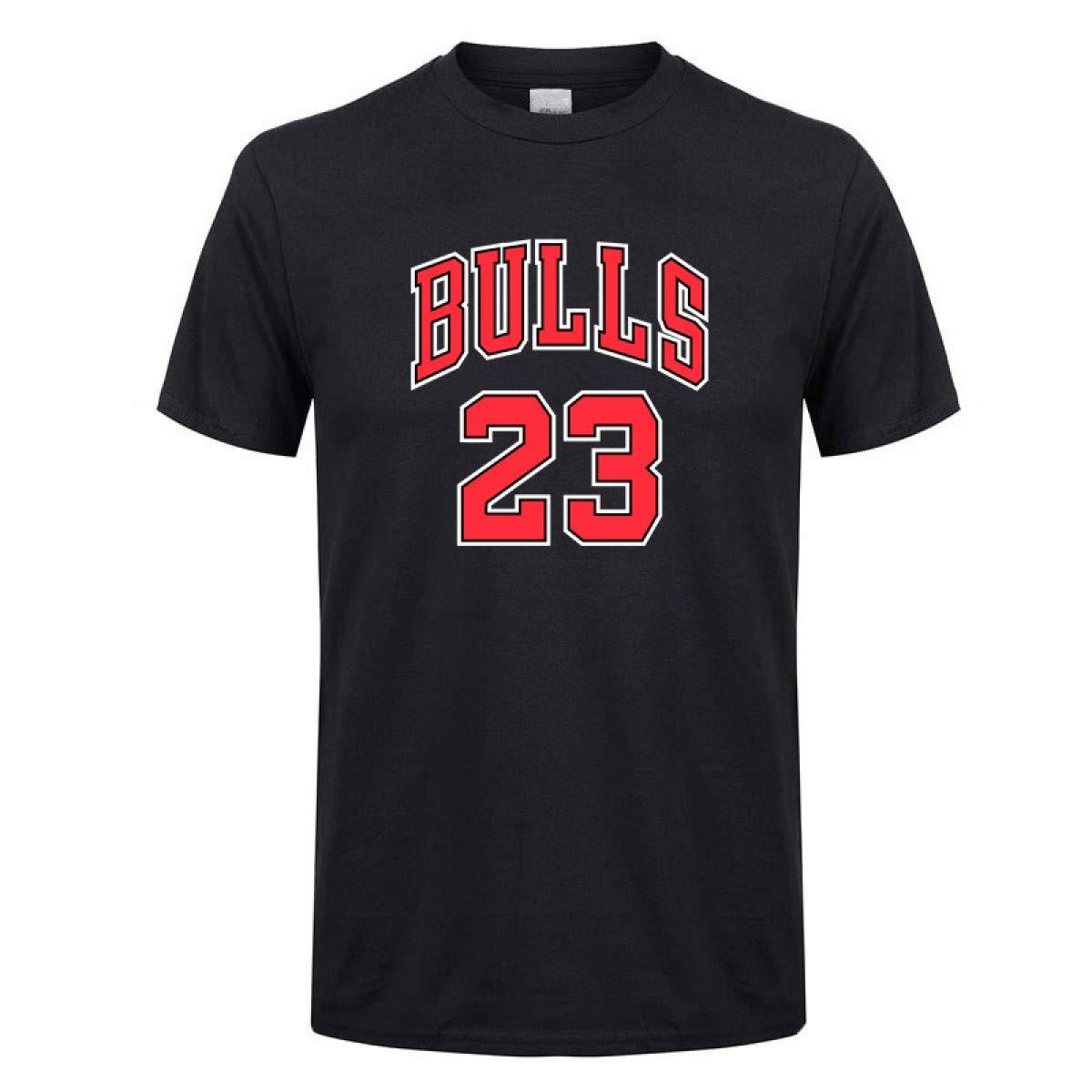3a40a85146 Amazon.com: Bulls 23 Jersey t Shirt Men/Women 2018 Summer New Print Tee  Jordan 23: Clothing
