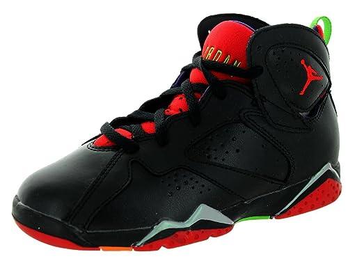 separation shoes 2e594 e4707 Jordan Nike Kids Air 7 Retro BP Black University Red Grn Pls Cl