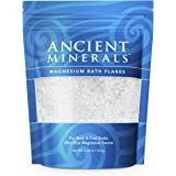 Ancient Minerals Magnesium Bath Flakes of Pure Genuine Zechstein Chloride - Resealable Magnesium Supplement Bag That…