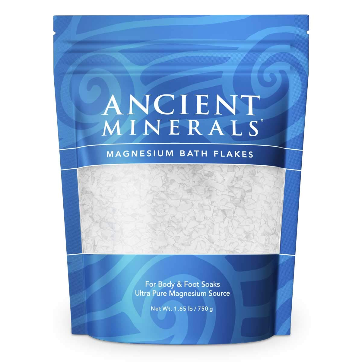 Ancient 750g Minerals Magnesium Bath Flakes Wholesale Health Ltd 609115