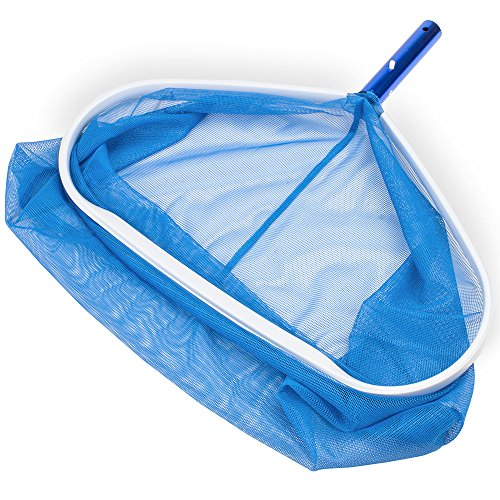Heavy-Duty Aluminum Deep Bag Pool Rake Head for Standard 1.25