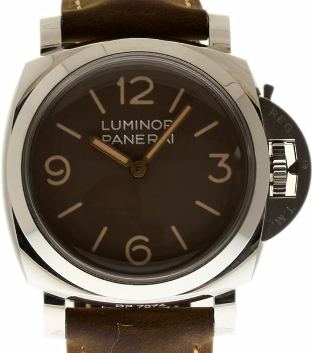 meet 3fd38 826e7 Amazon | パネライ ルミノール 1950 スイス製 自動 メンズ腕時計 ...