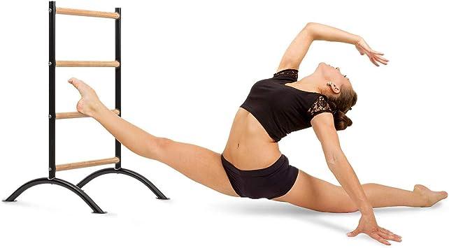 KLAR FIT Barre Amelie Barras de Estiramiento (Estiramientos para piernas, Entrenamiento de Ballet, Baile o Gimnasia, Portátil)