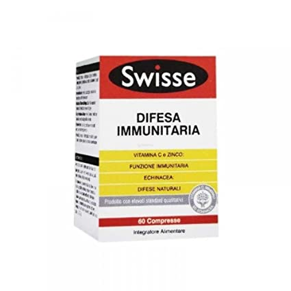 swisse difesa immunitaria  Swisse Difesa Immunitaria Integratore Per Sistema Immunitario 60 ...