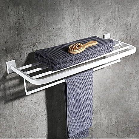 LHbox Tap Toallas de baño de Pintura Plegable de Acero ...