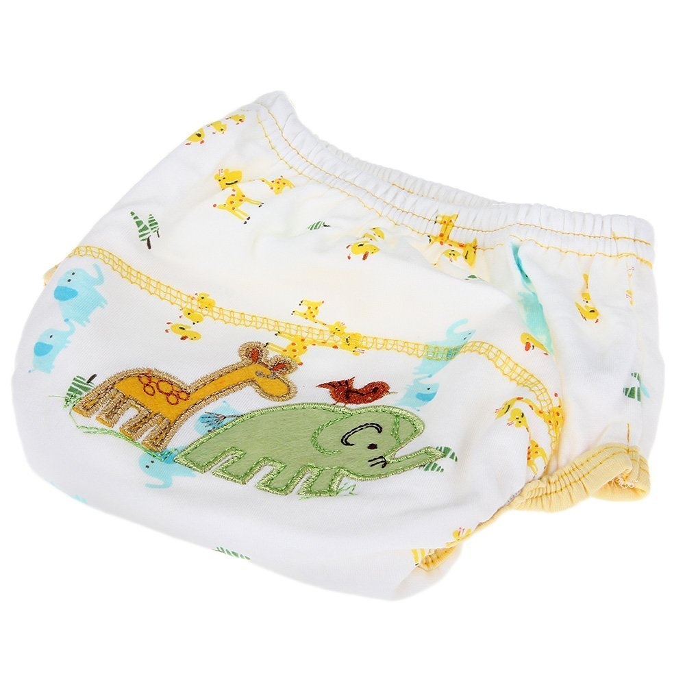 Training Pants elephant pattern - TOOGOO(R)diaper Training Pants Washable Waterproof Cotton elephant pattern for Bebe 038748