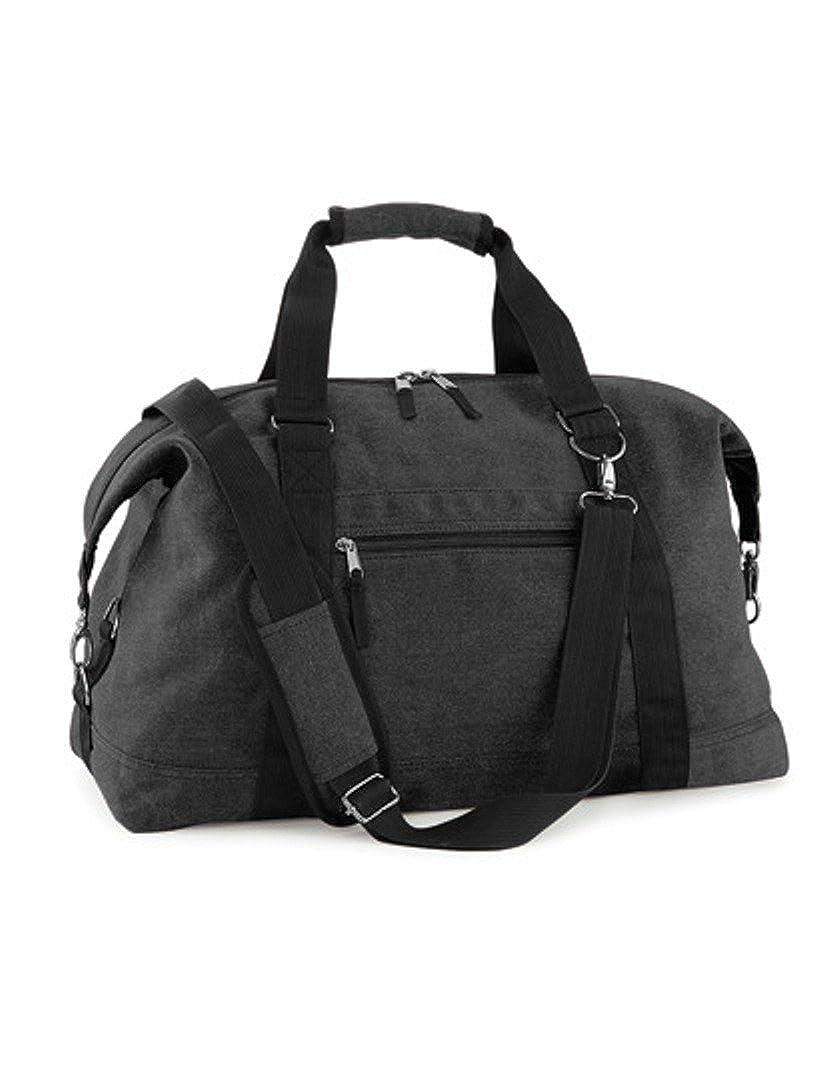 Bag Base BG650 - Vintage Canvas Weekender Bagbase M33498-VintageBlack-OneSize