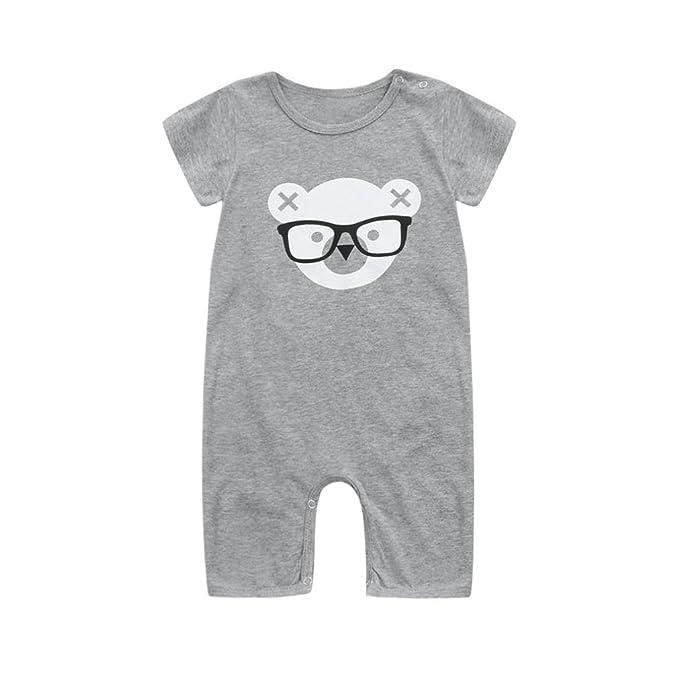 Amazon.com: fineser verano bebé Niños Dibujos Animados Oso ...