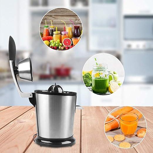 YHN Exprimidor Licuadora Eléctrico de Naranjas y Cítricos Juicer ...