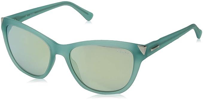 GUESS GU7398-5585X, Gafas de Sol para Mujer, Azul, 55: Amazon.es: Ropa y accesorios