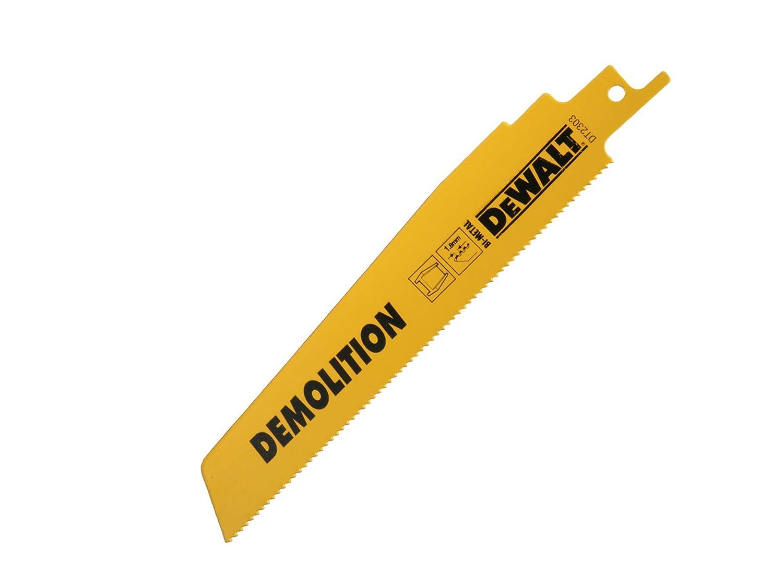 DeWALT Bimetall-Sä belsä geblatt 152 DemolitionMetall, 5 Stü ck, DT2303-QZ DEWDT2303QZ