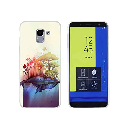 Amazon.com: Funda de silicona para Samsung J8 J4 J6 Plus ...