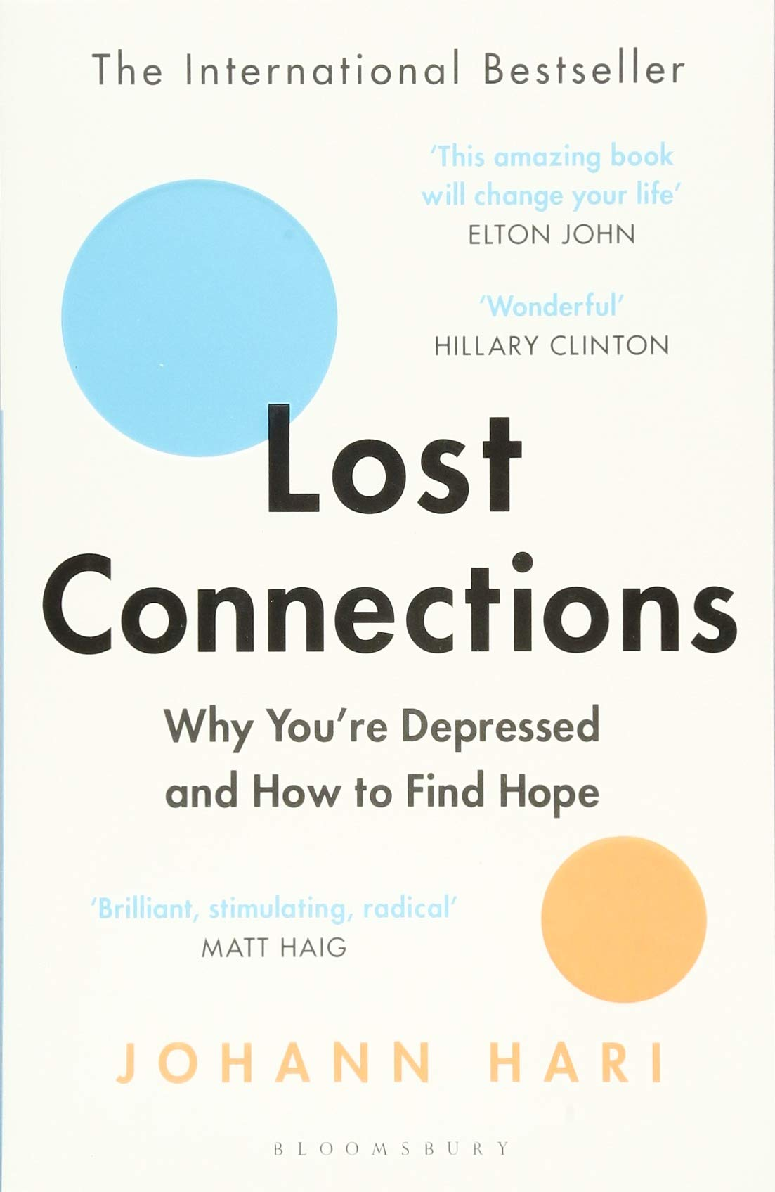 Lost Connections: Uncovering the Real Causes of Depression