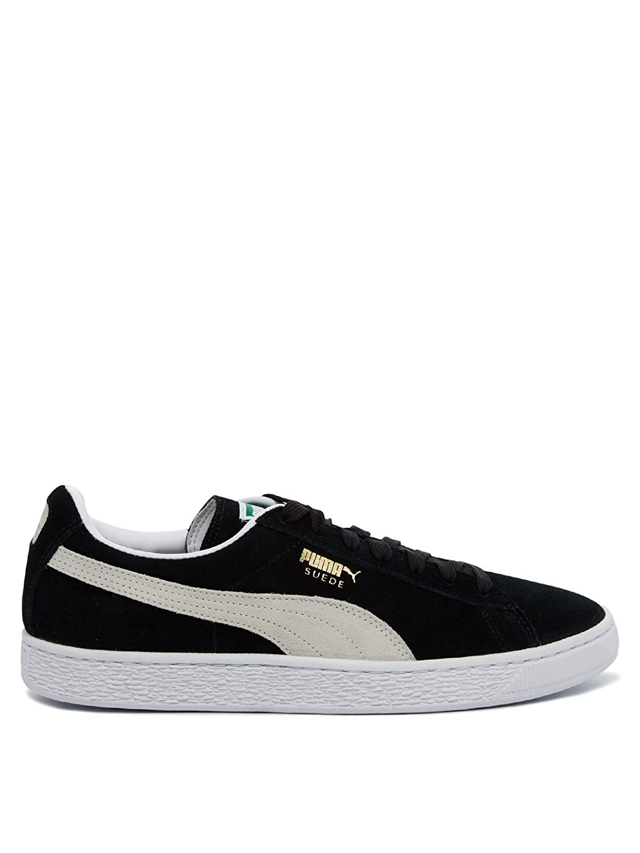 Puma Suede Classic+, Herren High-Top Sneaker  40 2/3 EU|Schwarz (black-white 03)